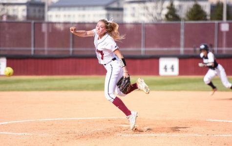 UMass softball cruises past Boston College on the road