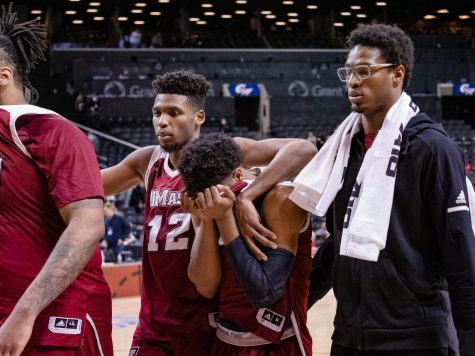 UMass men's basketball falls to George Washington in opening round of the Atlantic 10 tournament