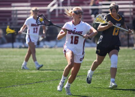 UMass women's lacrosse cruises past GW on Senior Day