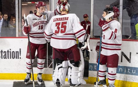 Filip Lindberg ready to go if called upon in Hockey East semifinal