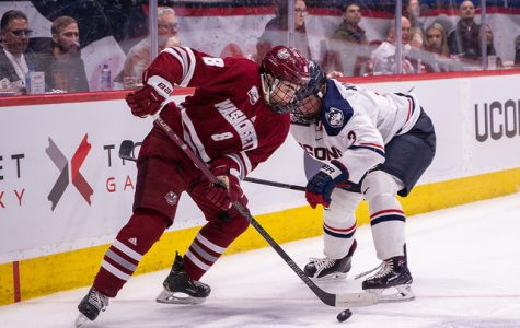 Bobby Trivigno a spark plug in UMass' 4-3 loss to UConn Friday