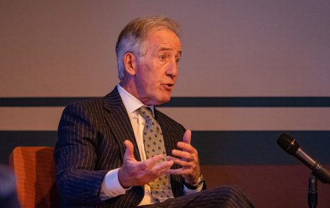 Congressman Richard Neal covers the 'inside baseball' of politics at UMass