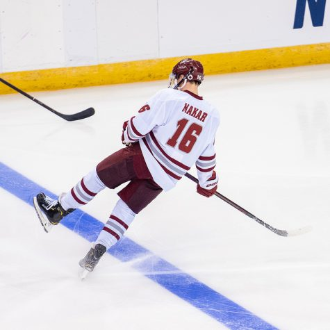 Cale Makar's elite skating stands out against Harvard
