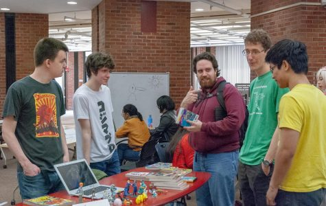 FalCon brings attention to comic, graphic and animation arts on campus