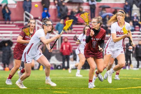 Strong defense leads UMass women's lacrosse to ugly win, first place in A-10