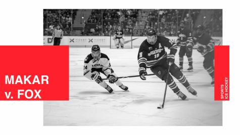Makar and Fox: College hockey's best defensemen go head to head