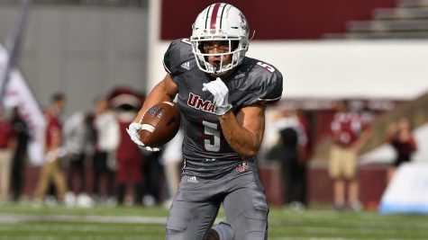 Former UMass football wide receiver Tajae Sharpe accused of assault in lawsuit