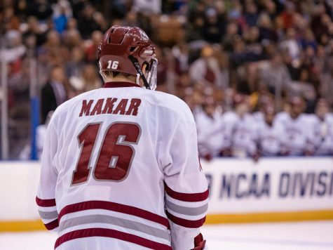 Hockey hosts No. 13 Boston University on Friday