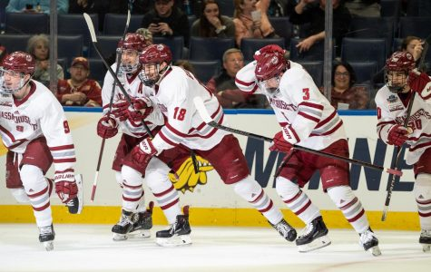 UMass hockey breathing confidence leading up to Saturday's final