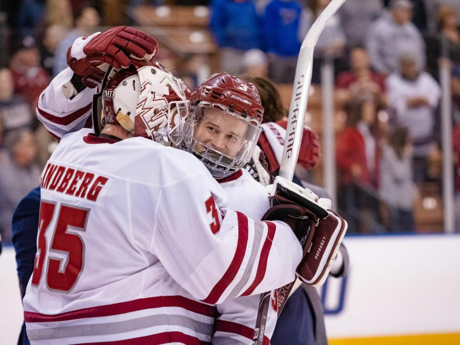 Desperation serving UMass hockey's recent second period play well