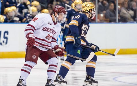 'Night and day' for Brett Boeing entering Frozen Four, April hockey