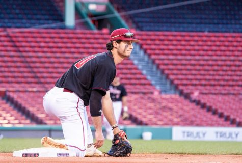 UMass baseball outlasts Rhode Island in series finale behind strong pitching of Brandon Walsh