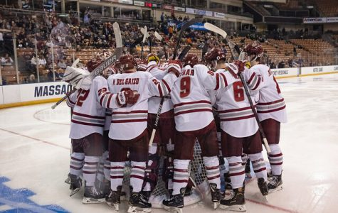 UMass ready for Frozen Four, Denver on Thursday