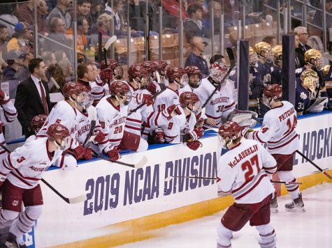 Despite inexperience in Frozen Four, UMass' plan is to 'just go out and play'