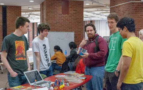 FalCon吸引了校园里对漫画、图形和动画艺术的关注