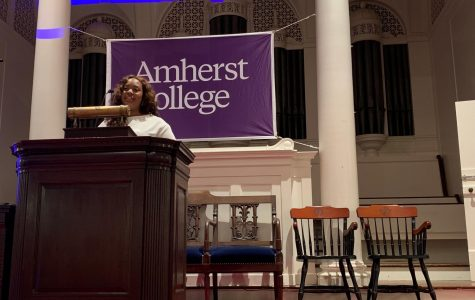 Autora do Green New Deal palestra no Amherst College