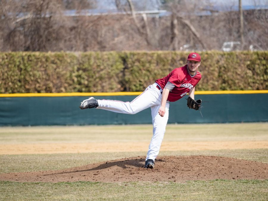 Collin Shapiro, Justin Lasko the heroes in game one win for UMass baseball