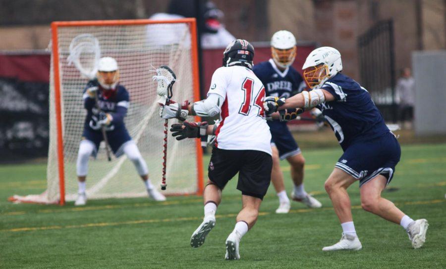 No. 17 men's lacrosse upset by Hofstra 10-9 in OT