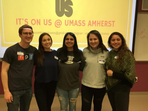 VIDEO: UMass solidarity gathering condemns swastikas and hate speech
