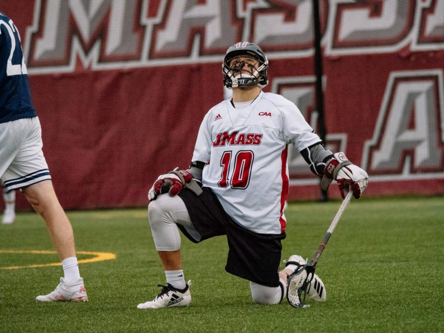 Early turnovers, penalties plague men's lacrosse in 15-12 loss to Drexel