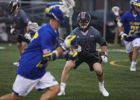 Another lopsided win for men's lacrosse