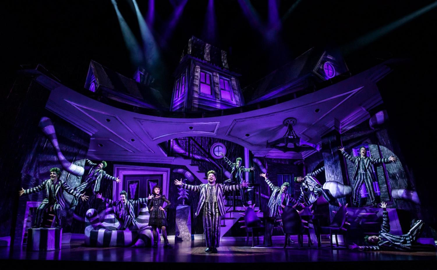 (Courtesy of Beetlejuice The Musical official Facebook page)