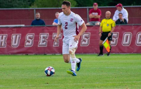 Fouls cost UMass men's soccer in 2-1 loss on the road at Bryant