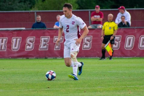 UMass men's soccer survives Saint Louis, advances in A-10 tournament