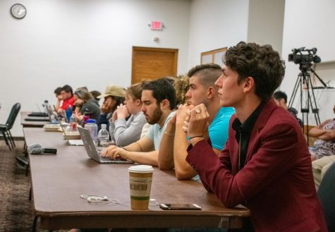 SGA appoints new Senators, discusses campus projects at first meeting