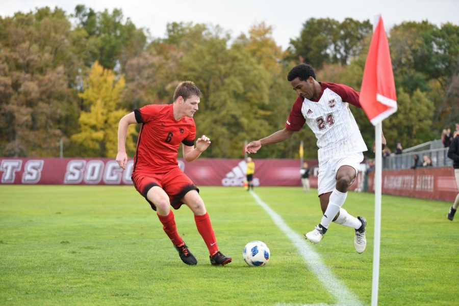 UMass earns third clean sheet in 1-0 win over Boston University