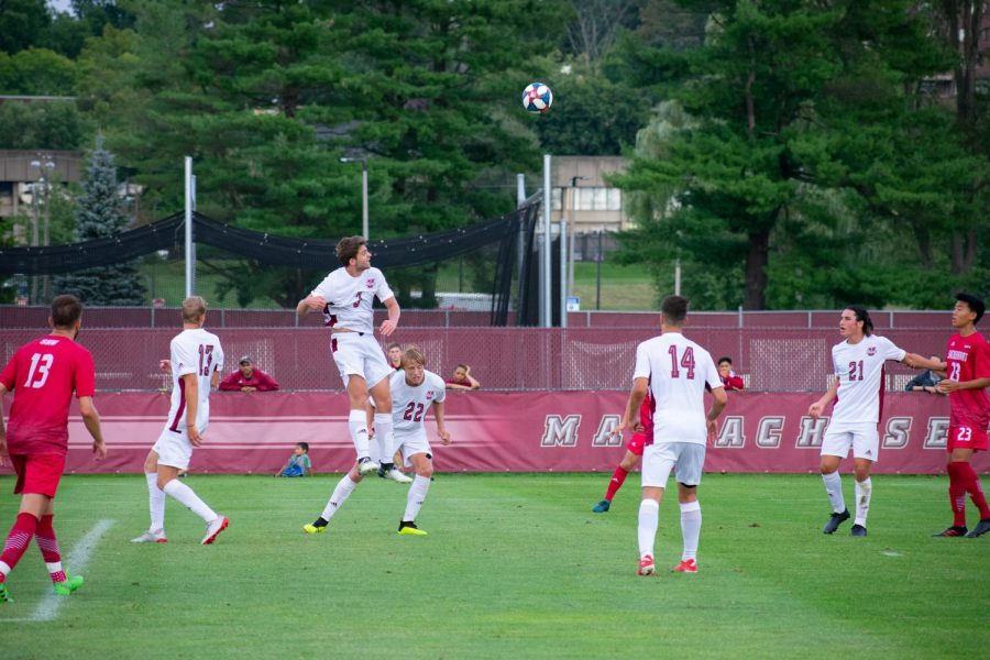 Second half explosion gives UMass men's soccer its fourth shutout win of the season