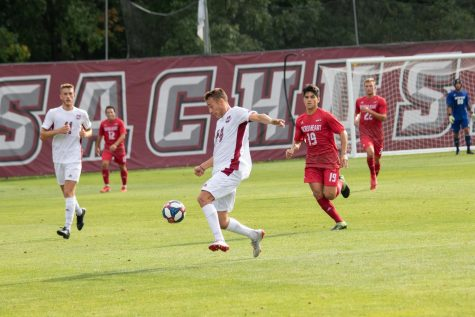 Massachusetts men's soccer ties Central Connecticut State in double overtime