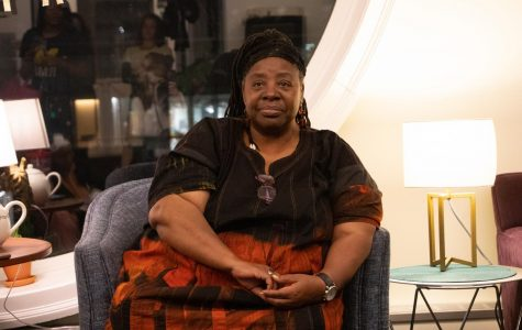 Loretta Ross, founder of the modern-day Reproductive Justice movement, speaks at Amherst College