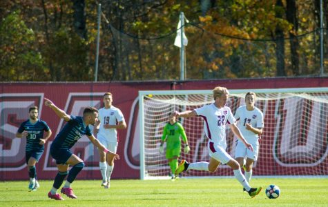 A-10 Men's soccer notebook: First-seed Rhode Island shuts out Davidson
