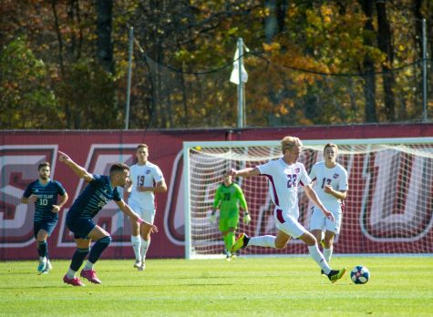 Chris Piekos should be the goalkeeper for the UMass men's soccer team