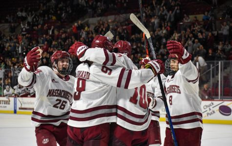Late-game heroics sneak UMass past AIC 4-1