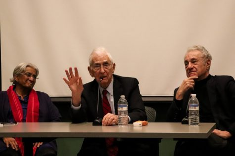 Daniel Ellsberg and Gar Alperovitz attend panel discussion to share their Pentagon Papers experiences