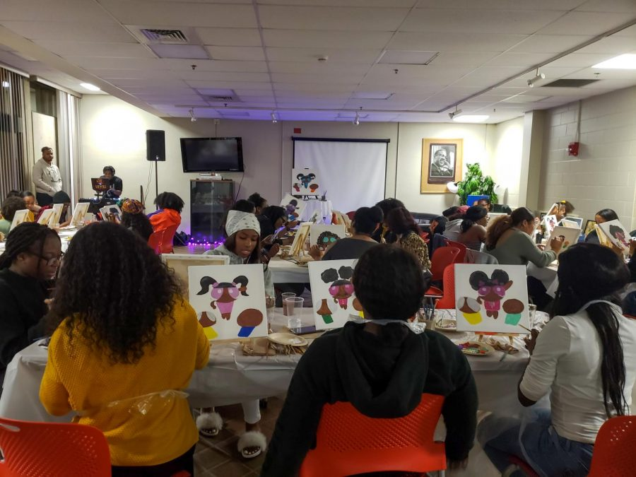 CMASS paint night celebrates African American culture