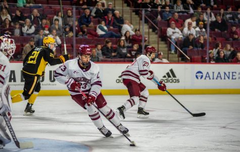 No. 3 UMass hockey set for top-10 matchup with Northeastern