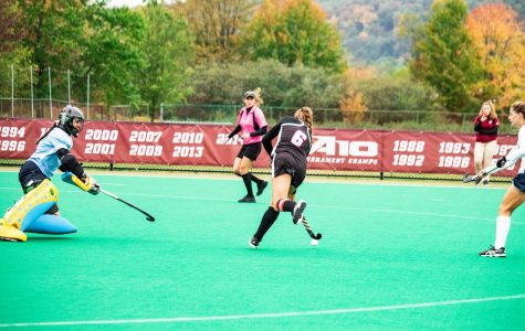UMass field hockey scores twice in the first quarter to take down Davidson