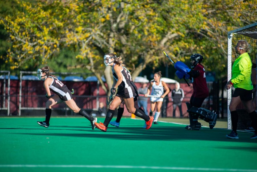 UMass field hockey upsets No. 25 Northeastern 2-0