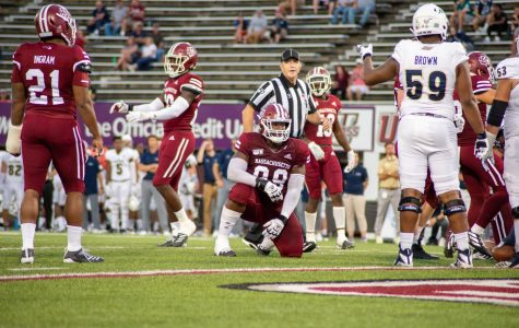 UMass football fizzles again in shutout loss