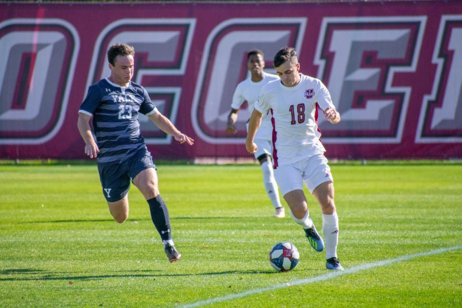 UMass men's soccer beats La Salle to keep tournament window open