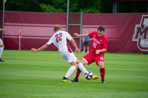 Thursday's NCAA tournament rematch between UMass men's soccer and Colgate will be a battle of adjustments