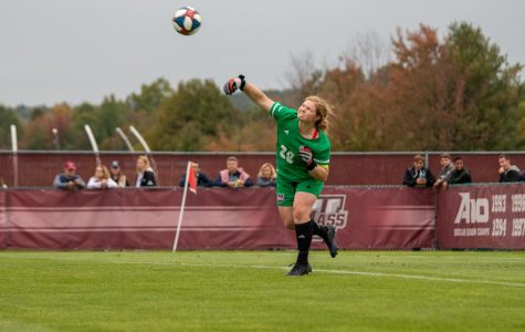 Ryan lifts UMass women's soccer over Davidson 1-0, records shutout