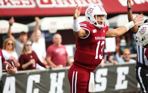 Seniors spark hard-fought second half in final game for UMass football