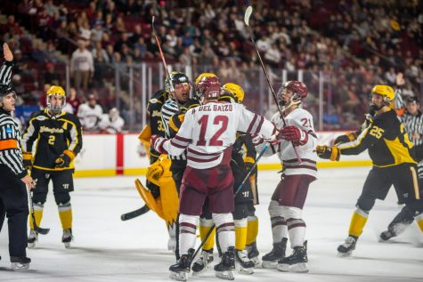 Greg Carvel reflects on special relationship with Cale Makar ahead of Frozen Four