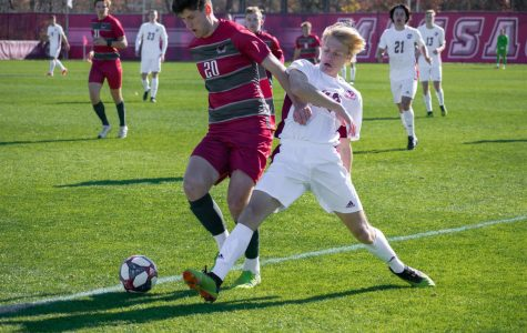 UMass men's soccer keeps tournament window open with 1-0 win over Saint Joseph's in season finale