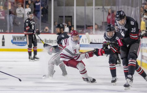 Despite losing a defenseman, UMass overpowers Northeastern