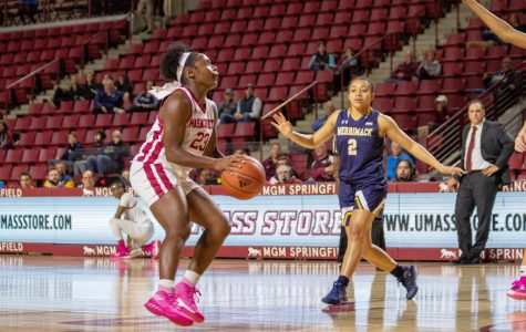 UMass women's basketball falls to Merrimack on opening night